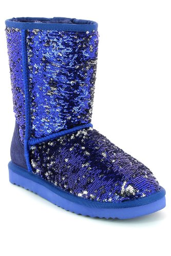 Go Tendance ,  Stivali donna Blu (Bleu Royal)