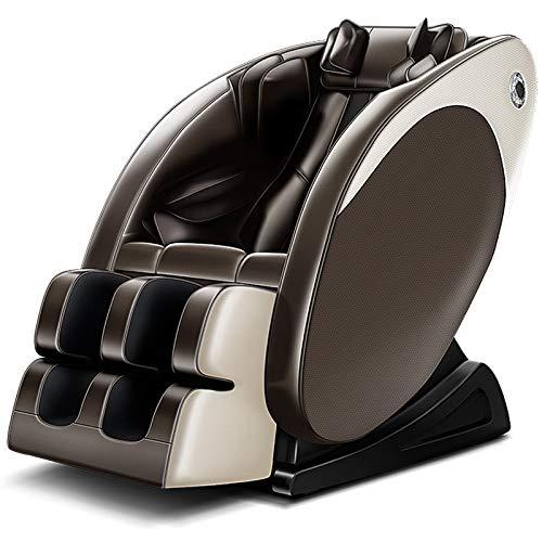 WDDP Massagesessel Mit Wärmefunktion, Shiatsu-Massage, Neigungsverstellung Elektrisch Automatikprogramme Knetmassage Klopfmassage Rollenmassage Sessel Massagestuhl