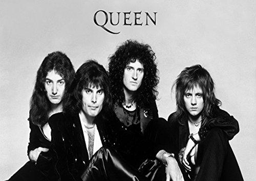 Freddie Mercury 30Queen Große Rock Metall Album Cover Design Musik Band beste Foto Bild Einzigartige Print A3Poster