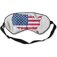 Seamless American Art Map 99% Eyeshade Blinders Sleeping Eye Patch Eye Mask Blindfold For Travel Insomnia Meditation preisvergleich bei billige-tabletten.eu