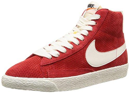 Nike, WMNS Blazer MID Suede VNTG, Scarpe sportive,Donna UNIVERSITY RED/SL-GM LGHT BRWN