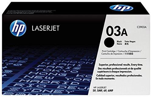 HP 03A (C3903A) Schwarz Original Toner für HP Laserjet 5, HP Laserjet 6 - Hp-lexmark-drucker-toner