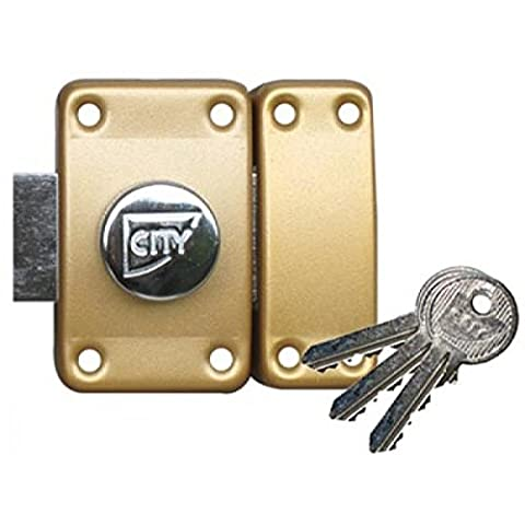 Verrous City - Verrou ISEO City 26 à bouton -