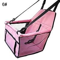 quanju cheer Mesh Waterproof Car Pet Supplies Puppy Dog Kitten Cat Protective Seat Cover Folding Carry Bag Hammock - 6#