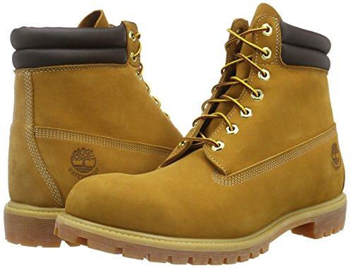 Timberland 6 in Boot, Scarpe a Collo Alto Uomo, Giallo (Wheat), 42 EU