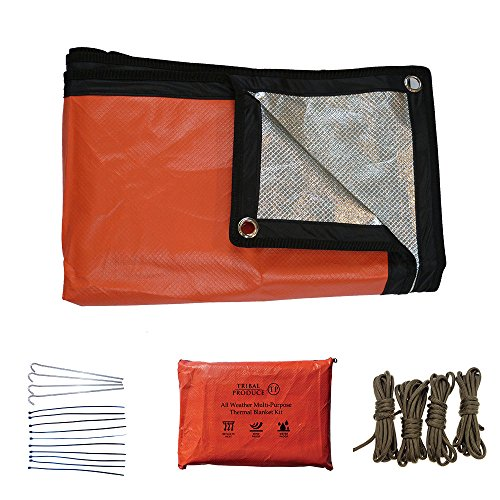 Novedad 2017. Kit emergencia manta térmica reusable
