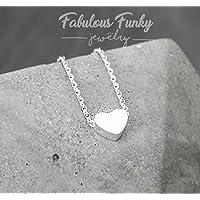 Herzkette Silber