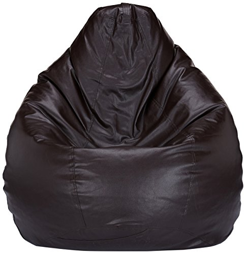 Solimo XL Bean Bag Cover Without Beans (Brown)
