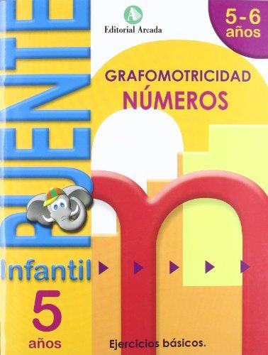 Puente. Números. Cuaderno De Grafomotricidad. E.I. 5 (Puente Infantil)