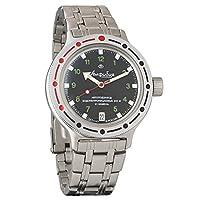 Vostok Amphibian 420269Ruso Militar reloj 2416b 200m auto de Vostok Amphibian