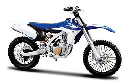 2013 Yamaha YZ450F [Maisto 20-13021] Azul / Blanco, 1:12 Die Cast