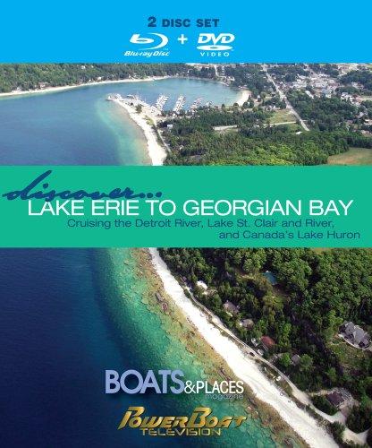 Boote und Places Digital entdecken Lake Erie zu Georgian Bay DVD Set