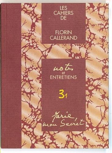 Marie, Mon Secret ! Notes et Entretiens 3.1
