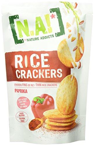 N.A.! Rice Cracker N.A! Reis Cracker Paprika 12er Pack, (12X70G Beutel) - Cracker