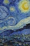 Van Gogh Starry Night Journal: (Blank Book, Notebook, Diary)