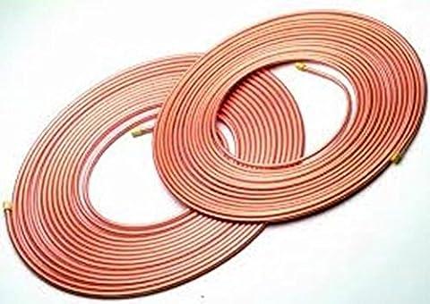 Sweet Maison Bon Marché en cuivre 10mm Microbore Tube Différentes longueurs 1Mtr–10Mtr gaz Eau Huile, 10mm x 3 Metre