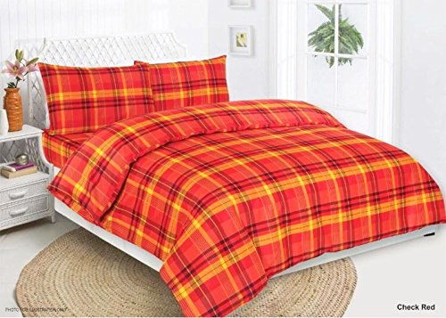 duvet-cover-set-bed-sheet-included-polycotton-various-designs-full-set-king-check-red
