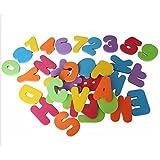 Lalang 36 Baby Badespielzeug - Bade Buchstaben und Zahlen Spielzeug. Kinder Bildungs Spielzeug