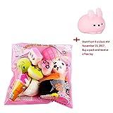 Picture Of Slow Rising Squishies Jumbo, Toamen 10pcs Medium Mini Soft Squishy Bread Toys Key Cell Phone Pendant Strap Gift