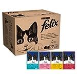 Felix Wet Cat Adult Food Pouch, 120 x...