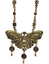 Aamoddhini Party Wear Western Fancy Designer Necklace Set For Women And Girls LN-75