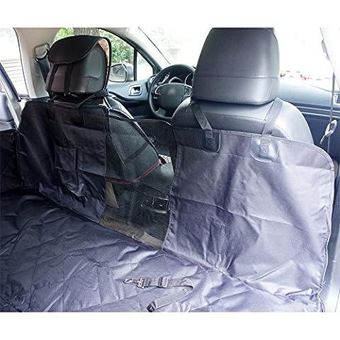Anfayejia Chien pour animal domestique de voiture Housse de siège étanche lavable Hamac protection pour voitures SUV et camion, imperméable et antidérapant et ceinture de sécurité