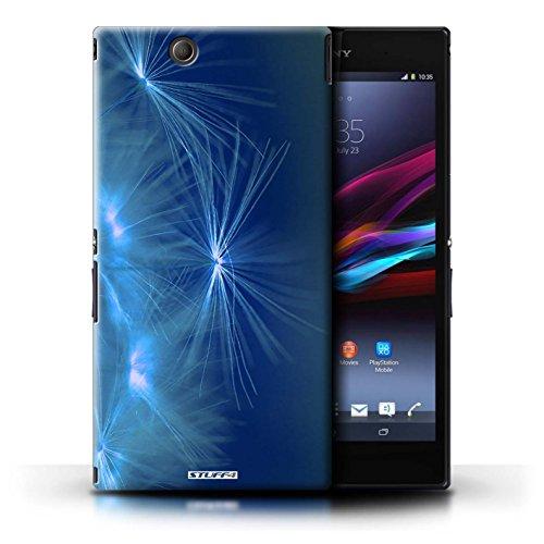 Kobalt® Imprimé Etui / Coque pour Sony Xperia Z Ultra / Rouge conception / Série Allumez la vie Bleu