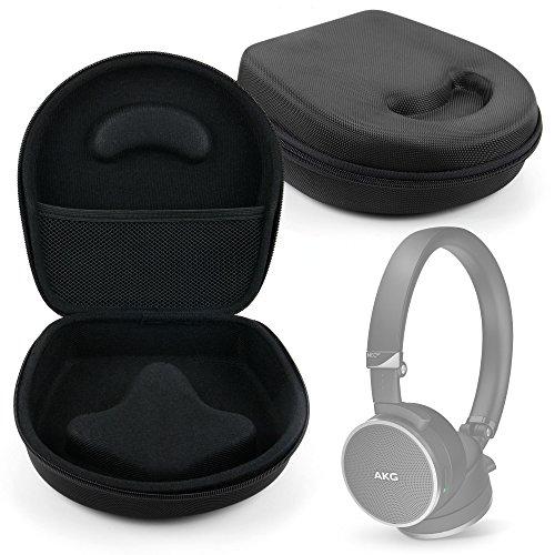 DURAGADGET Etui Coque Rigide de Rangement Noire pour JBL E35 et E45BT, Lamax Beat Blaze B-1, Sony MDR-7506 Casque Audio - Coque moulée