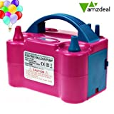 Amzdeal Dual Nozzle Rose Red Balloon Air...