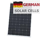 150W Photonic Universe Solar-Panel, Solarzelle für Wohnmobil, Wohnwagen, Boot, Yacht- oder für andere, oder Boot, Solar, netzferne, 250Watt, optimal für Laden eines 12-V-Lithium-Ionen-Akku