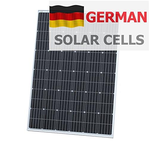 Watt Solar-panel Wohnmobil 200 (250W Photonic Universe Solar Panel aus deutschen Solar Zellen, für ein Wohnmobil, Wohnmobil, Wohnwagen, Boot, Yacht oder für andere Fahrzeug oder marine Anwendung, oder ein netzferne Solar Power System (250Watt), optimale Wahl für Laden eines 12V Akku)