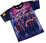 Trikot Barça–Neymar Messi Suarez Xavi Iniesta–Offizielle Kollektion FC Barcelona–Größe Erwachsene, Blau - blau - Größe: XX-Large