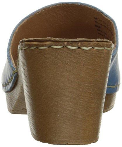 Couro Montanha Sandale Branco Leder Azul Bocado CvwwYqf