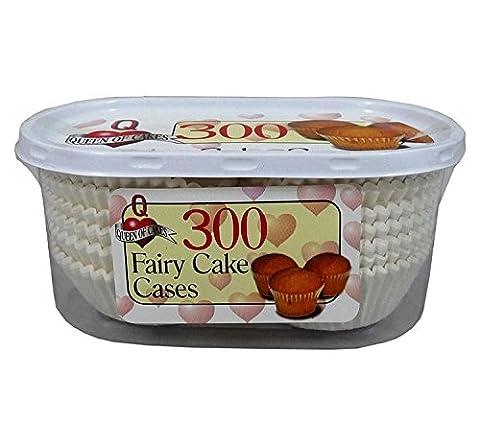 600Fée gâteau cas/Lot de 2paquets de 300