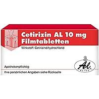 CETIRIZIN AL 10 mg Filmtabletten 7 St preisvergleich bei billige-tabletten.eu