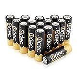Odec Ni-MH AA Akkus, 1,2V 2450mAh Wiederaufladbare Batterien, 1200 Zyklus der Aufladung, Packung von 16