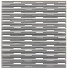 InterDesign Lineo - Tapete para fregadero, regular, color gris