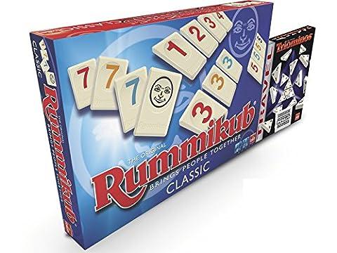 Pack Rummikub et Triominos De