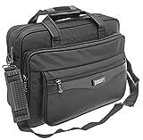 Star Dragon Businestasche Aktentasche Arbeitstasche Schultasche Messenger Bag Tasche Umhängetasche Messenger Bag Schultertasche (Schwarz)