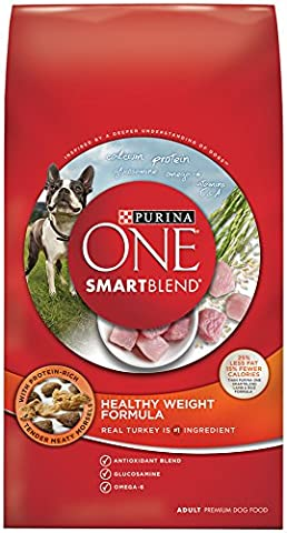 Purina One Smart Blend Dog Food, Healthy Weight Formula, 8-Pound Bag