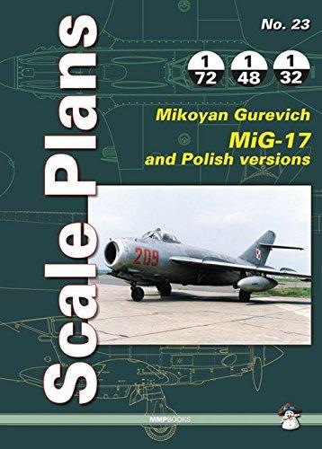 Scale Plans No. 23: Mikoyan Gurevich MIG-17 by Dariusz Karnas (Illustrator) (14-May-2015) Paperback par Dariusz Karnas (Illustrator)