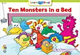 Ten Monsters in a Bed (Learn to Read Math Series)