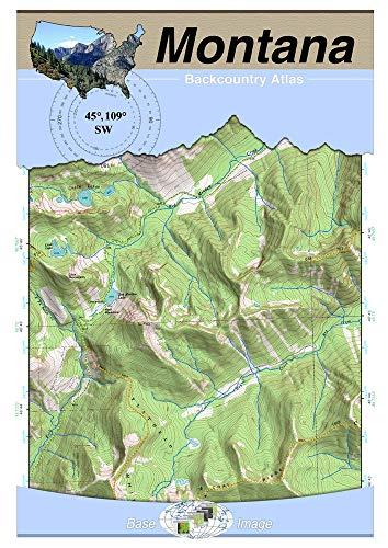 45°109° SW - Red Lodge, Montana Backcountry Atlas (Topo) (Montana ...
