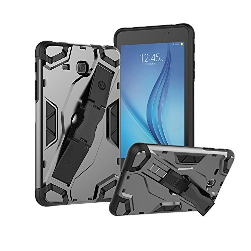Galaxy Tab A 8.0 Case | Galaxy Tab A 8.0 Back Cover T350/T355 | Prime Retail Tablet Case with Hand Strap Kickstand Latest Rugged Impact Resistant Flexible Soft TPU Protective Case Fits Samsung Tab A 8