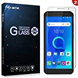 RIFFUE Screen Protector for Alcatel 1, Crystal Tempered