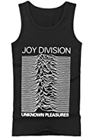 Coole-Fun-T-Shirts Men's T-Shirt with 'Joy Division Unknown Pleasures Tank