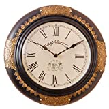 Vintage Clock Imperial Pine Wood Clock (...