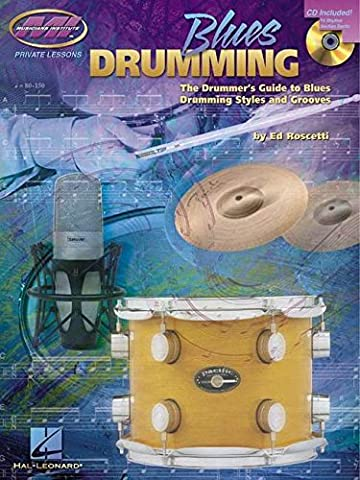 ED ROSCETTI BLUES DRUMMING DRUMS BOOK/CD (Musicians Institute Private Lessons)
