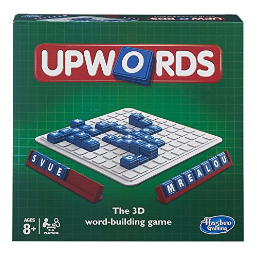 Upwords - The 3D Word-Building Game by Hasbro