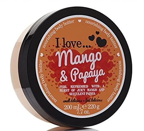 I Love... Mango & Papaya Nourishing Body Butter 200ml